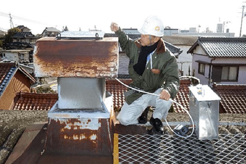 大気汚染物質の測定