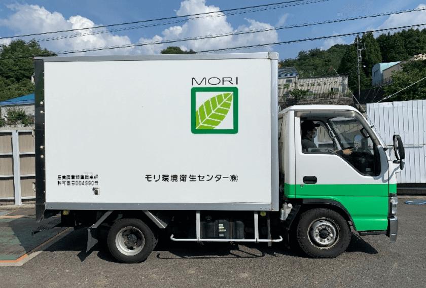 感染性廃棄物運搬用保冷車