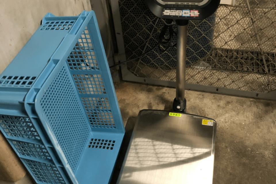 廃棄物保管庫計量器設置